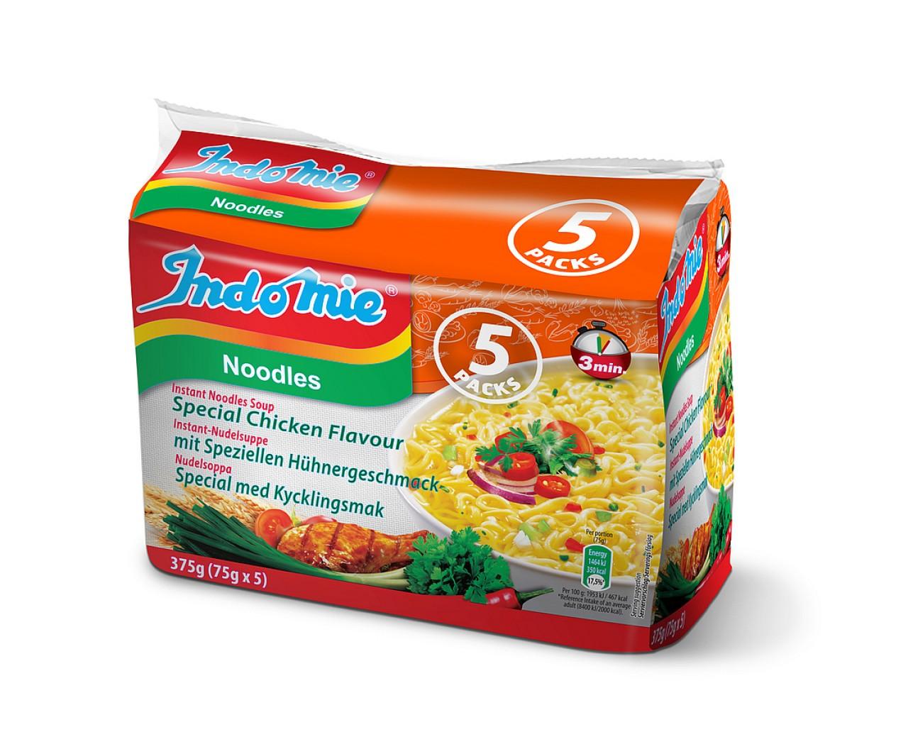 Indomie instant noodles soup Special Chicken flavour