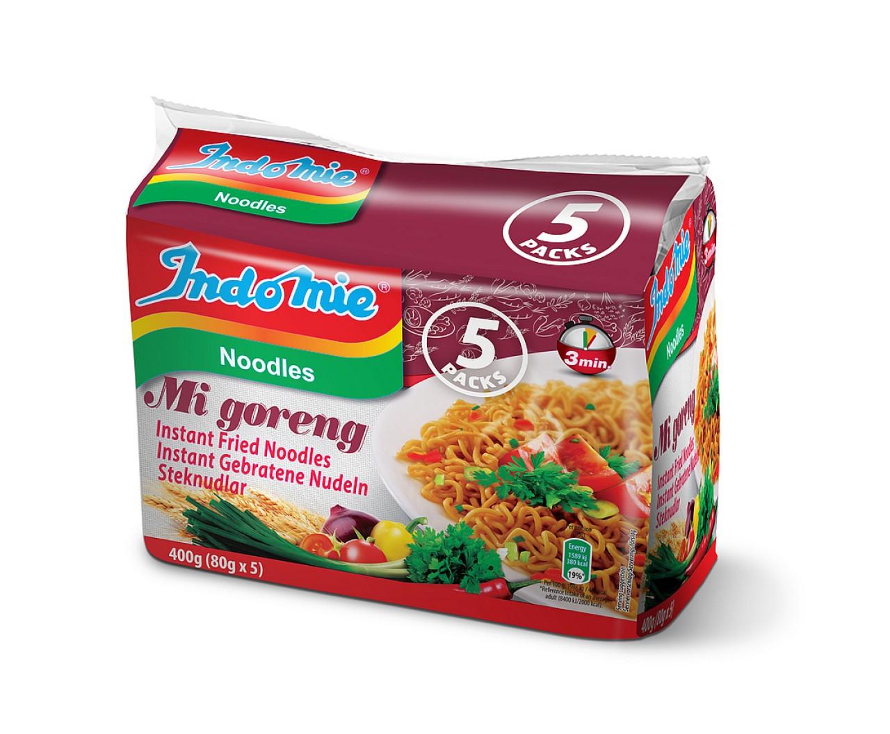 Indomie Mi goreng instant fried noodles